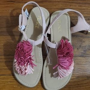 Children's Place Shoes - Children's Place pom pom sandals